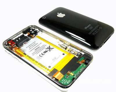 Замена крышки iPhone 3G